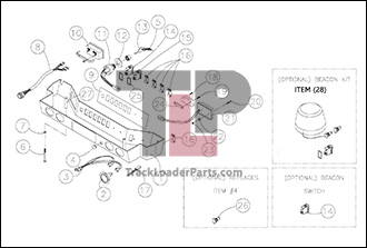 ASV RC30 02 A Light Bar Assembly asv rc30 oem parts diagrams asv rc30 wiring diagram at edmiracle.co