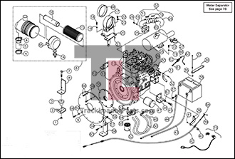 Bobcat 753 Hydraulic Parts Diagram