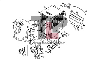 ASV RC50 01 B Cab ROPS Assembly Open asv rc50 oem parts diagrams asv rc 50 wiring diagram at edmiracle.co