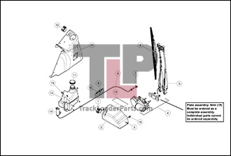 terex pt100 wiring diagram wiring diagram diagram 05 a windshield wiper optional