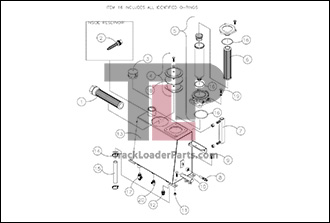 Terex R190T 3 1A Hydraulic Reservoir Assembly terex r190t oem parts diagrams terex hd1000 wiring diagram at mifinder.co
