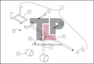 Terex R190T 5 4A Track Installation Tool terex r190t oem parts diagrams terex hd1000 wiring diagram at aneh.co